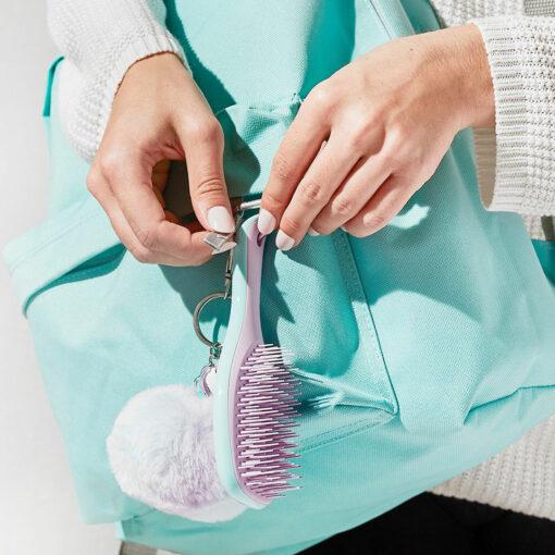 Brosse à Cheveux Mini Wet Detangler Vert Sea Green - Tangle Teezer | Color-Mania