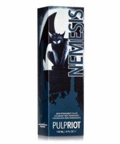 Coloration Cheveux Bleu Nemesis - Pulp Riot | Color-Mania