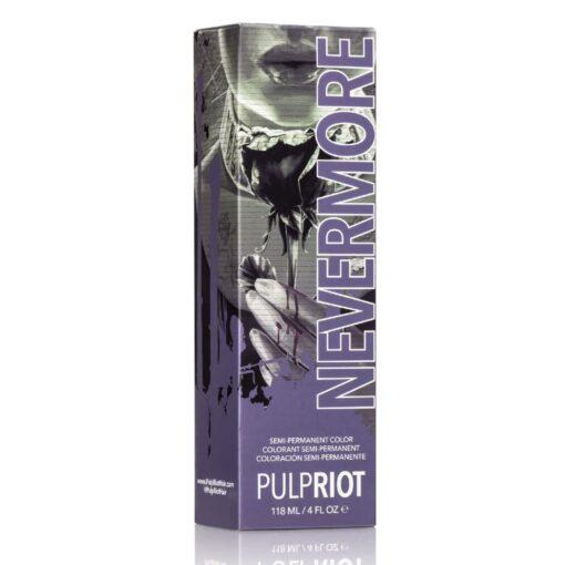 Coloration Cheveux Violet Nevermore - Pulp Riot | Color-Mania