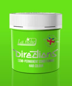 Coloration Cheveux Vert Fluorescent Green - Directions   Color-Mania