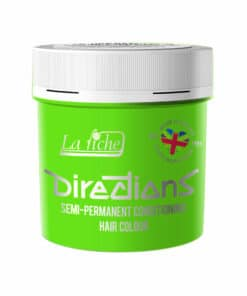 Coloration Cheveux Vert Fluorescent Green - Directions | Color-Mania