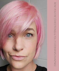 Merci Justine :) Coloration cheveux Pastel Rose Poudré - Directions | Color-Mania