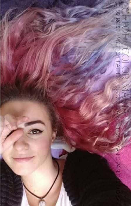 Chloé - Une vraie Color-Maniac qui a obtenu les cheveux pastels ^^