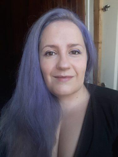Coloration Cheveux Violet Bleuté - Stargazer photo review