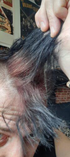 Coloration Cheveux Noir Raven - Manic Panic photo review