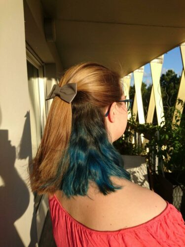 Coloration Cheveux Bleu Nightfall - Pulp Riot photo review