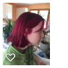 """Coloration Cheveux Rouge """"Rubine"""" - Directions photo review"""