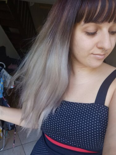 Coloration Cheveux Gris Gilda Granny Grey - Herman's Amazing photo review