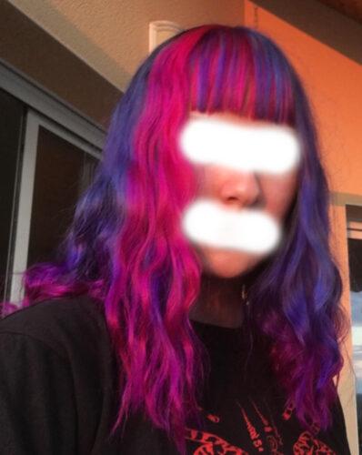 Coloration Cheveux Rose Cerise - Directions photo review